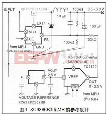 XC6366B105MR的参考设计