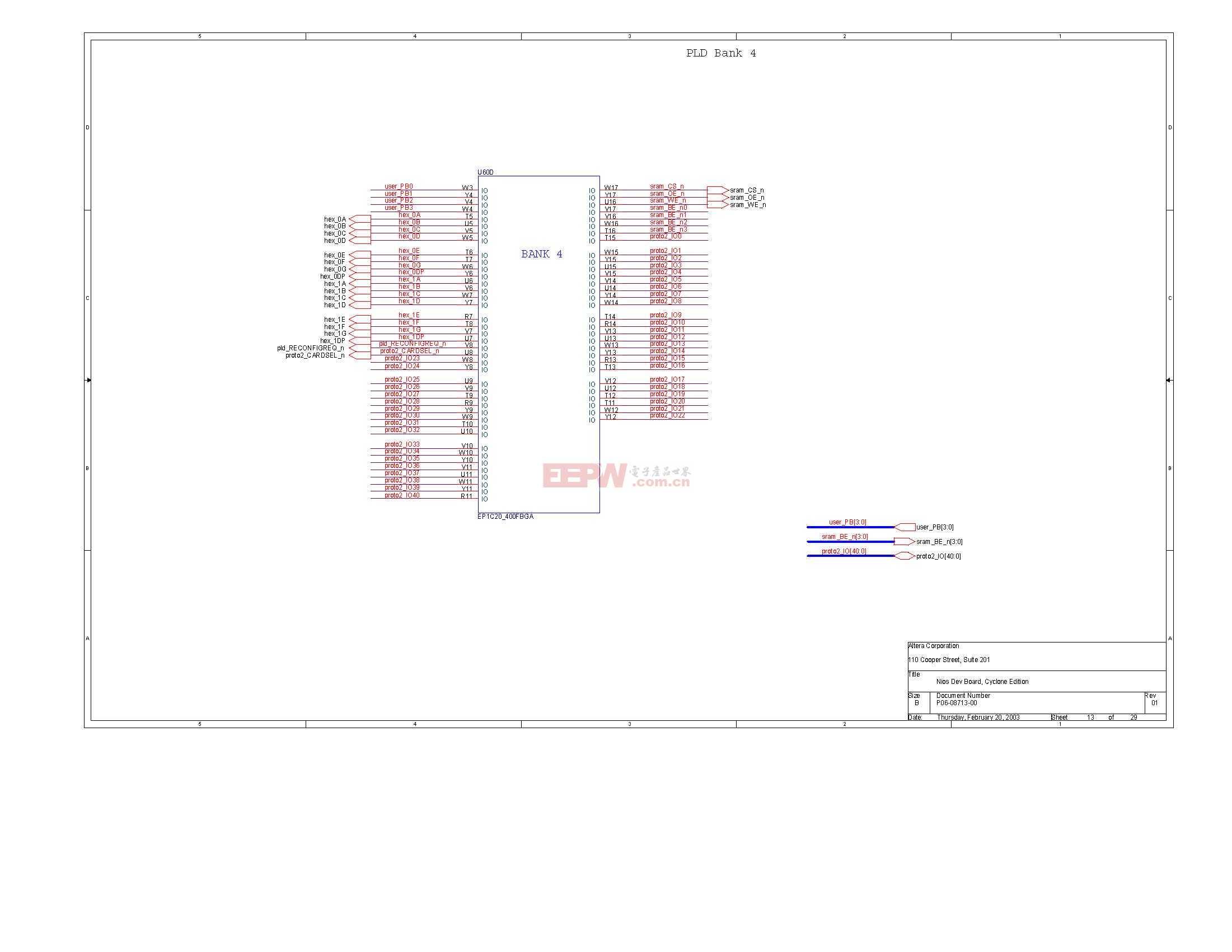 NIOS开发板电路图(Altera官方版)12