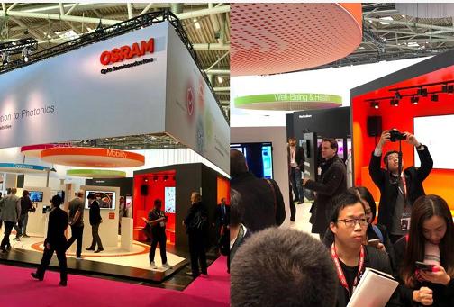 惊艳德国慕展,欧司朗展示三类未来光科技