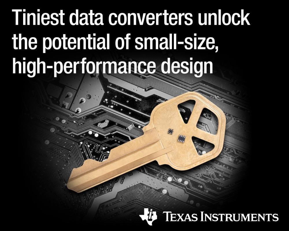 【德州仪器新闻图片20181204】德州仪器推出最小巧的数据转换器具备高集成度与高性能.jpg