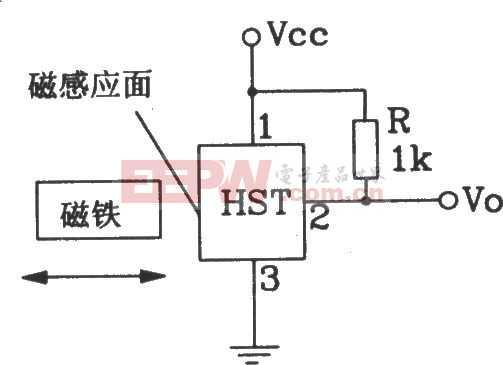 HST霍尔传感器常见应用接口电路图