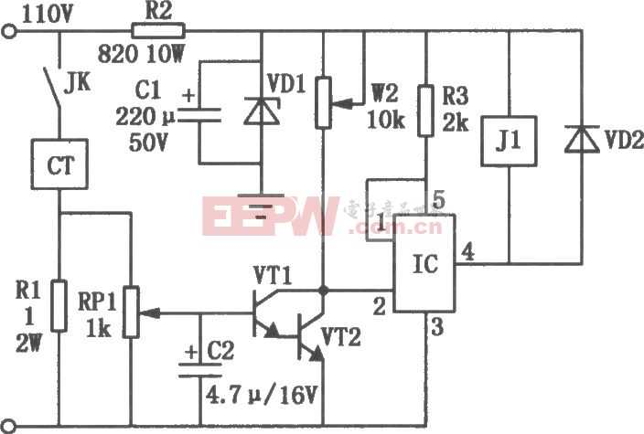 机床电磁吸盘欠流保护电路图