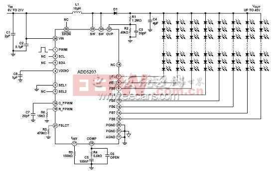 调光模式的pwm接口电路